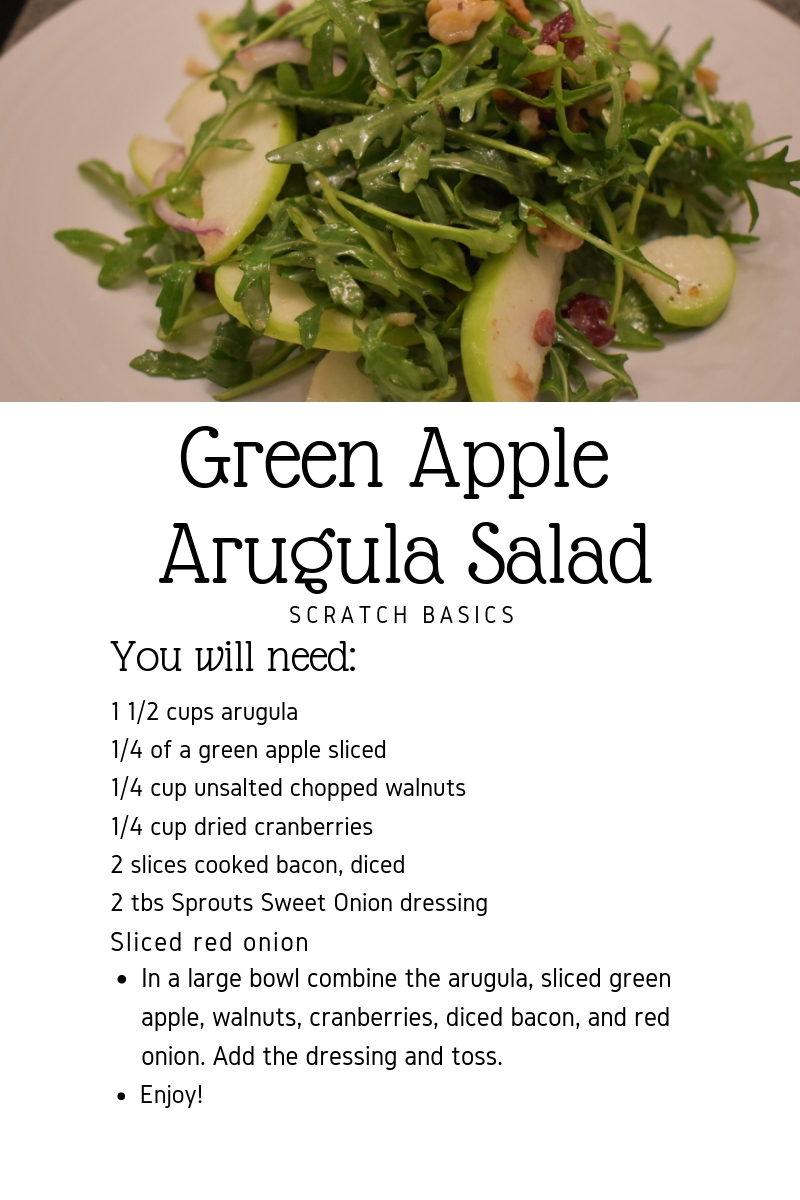 Green Apple Arugula Salad